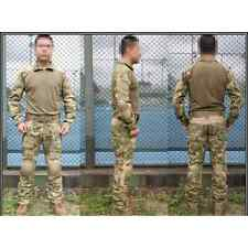 EMERSON COMBAT TACTICAL SUIT A-T FG WATER SHIELD ATACS FG Tg M SOFTAIR AIRSOFT