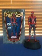 SPIDER-MAN CLASSIC RED MUSEUM STATUE BOWEN DESIGNS LARRY MALLOTT! SEE PICS! WOW!