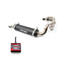 TRINITY RACING STAGE 5 V FULL EXHAUST SYSTEM + PC 5 RANGER XP 900 ( 2016 ) BLACK