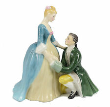 Royal Doulton Porcelain Figurine, 'The Suitor' HN2132 Hand Painted copr1961