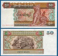 MYANMAR ( BIRMA / BURMA ) 50 Kyats (1997)  UNC  P.73 b