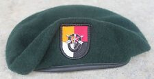 Authentic New US Army 3rd Special Forces Group Green Beret, Size 7 1/4, Spec Ops