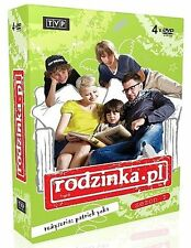 RODZINKA PL. SEZON 2 DVD( 4 disc)POLISH Shipping Worldwide
