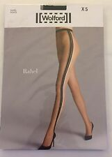 Wolford Rahel Tights Black Stripes XS