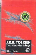 Tolkien Herr der Ringe Trilogie 1 2 3 Rote Ausgabe gebunden hardcover