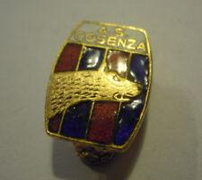 PINS SPILLA DA BAVERO - A.C. COSENZA CALCIO - ANNI '50 -- ( VP )