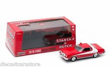 GREENLIGHT 86442 STARSKY AND HUTCH 1976 76 FORD GRAN TORINO 1/43 DIECAST RED