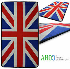Large Non-Slip Washable Union Jack Floor Door Mat Retro Barrier Entrance Mats
