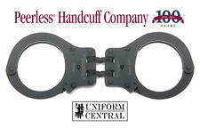 NEW Peerless Hinged Handcuff 802C Black Oxide Finish w/ 2 Keys - Police