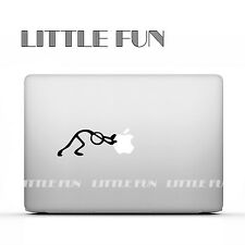 "Macbook Aufkleber Sticker Skin Decal new Macbook12"" Pro 15"" Strichmaennchen B04"