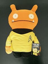 "SDCC 2015 exclusive Star Trek 12"" UGLYDOLL Wage Captain yellow shirt COMIC-CON"