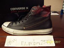 NEW Converse All Star Tornado zip Burnished leather by John Varvatos size 12