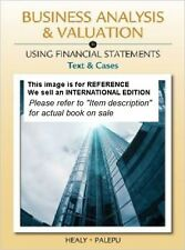 Business Analysis and Valuation: Using Financial Statements(Int' Ed Paperback)5E