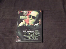 The Monster Hunter + The Last Sentinel (DVDs x 2) *NEW* - Free Ship.) Carradine)