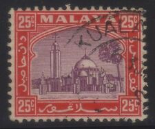[JSC]1935 MALAYA MOSQUE OLD STAMPS COLLECTION~25c