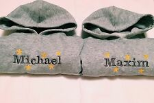 HOODIE PERSONALISED STAR NAME BABY/CHILDREN, OUTFIT, JUMPER PERFECT GIFT IDEA