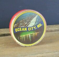 Vintage Playing Cards Ocean City MD Round with Case Jokers