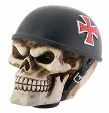 Bone Skull German Iron Cross Biker Solid Resin Shift Knob Hog Rider Rat Rod Gear