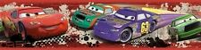 DISNEY CARS WALLPAPER BORDER peel & stick  McQueen Mater room decor Piston Cup