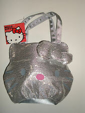 Loungefly Hello Kitty Quilted Face Tote Handbag