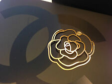 CHANEL Gold tone Metal Bookmark , Ltd Edition Great for Chanel Lover *New