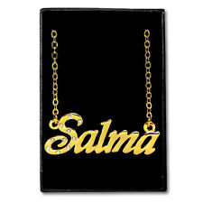 Gold Plated Name Necklace - SALMA - Gift Ideas For Her - Jewelry Custom Made