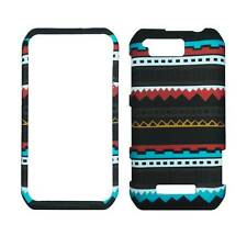 For Motorola Photon Q LTE XT897 Black Aztec Plane Case Hard Phone Cover
