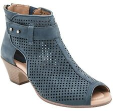 Earth Intrepid - Women's Open-toe Ankle Boot Moroccan Blue - 8 Medium