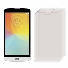6 Anti Scratch Screen Protectors For LG L Bello D331 - Glossy Cover Guard Film
