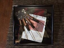 Freddy Krueger Glove As It Was Found Collectable SHADOWBOX Prop gettyarks.com