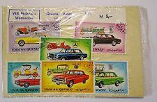 DDR Briefmarken für die BRD- VEB Philatelie Wermsdorf-6 Stück/SET-Umm Al Quwain