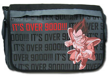 **License Bag** Dragon Ball Z Vegeta It's Over 9000 Messenger Back Pack #11055