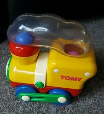Vintage/Collectable 1990 Tomy Train Push/Pull Along Ball Popper - Discontinued