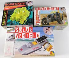 LOT OF 3 OWIKIT ROBOTIKITS BINARY ROBOT TURBO 3000 SOLAR VEHICLE NEW