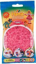 Hama 72 Rose transparent sachet de 1000 perles à repasser taille Midi