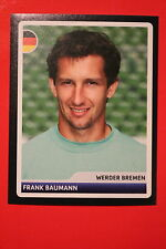 PANINI CHAMPIONS LEAGUE 2006/07 # 184 WERDER BREMEN BAUMANN  BLACK BACK MINT!