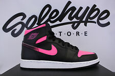 NIKE AIR JORDAN 1 RETRO HIGH GS HYPER PINK VALENTINES DAY 332148 019 SZ 6 Y