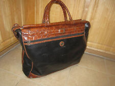 Vintage - CAPEZIO - Travel Weekend / Duffel / Doctor's Bag - Leather Luggage