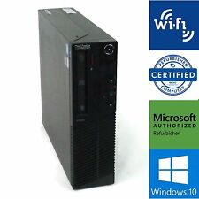 Lenovo ThinkCentre M82 Desktop Dual Core i3 2120 3.3GHz 4GB 250GB Win 10 | WiFi