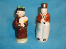 JAPANESE COUPLE VINTAGE SALT AND PEPPER SHAKERS