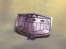 Judge Dredd Flat Type Belt Buckle, Metal, Silver