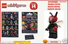 LEGO MONSTERS, MUTANT BUGMAN ,MINIFIGURES SERIES 14 , SOLO 24 ORE SCONTO -10% !!