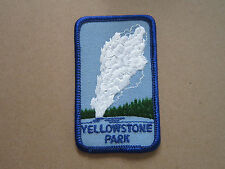 Yellowstone Park Woven Cloth Patch Badge