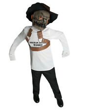 """Scarecrow Kids DC Supervillian Costume, Large, Age 8-10,HEIGHT 4' 8""""- 5'"""