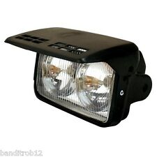 Universal Twin Motorcycle Motorbike Headlight Headlamp Flip Cover