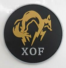 METAL GEAR SOLID : GROUND ZEROES MGS FOX UNIT Bedge   Patch  SK +    243