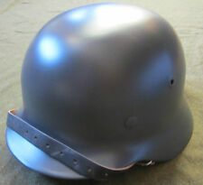 WWII GERMAN WAFFEN HEER M40 COMBAT STEEL HELMET- 68 SHELL AND 59-60 LINER