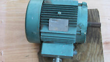 General Electric 5K184AL217 A   5 HP 3 Phase Motor  1745 RPM  out of working fan