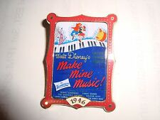 Make Mine Music Movie Marquee Disney Pin ~ 12 Monhs Of Magic