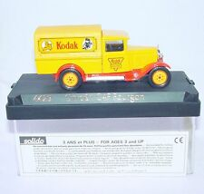 Solido France 1:43 CITROEN C4-F KODAK CAMERAS & FILM 1930 Truck MIB`80 VERY RARE